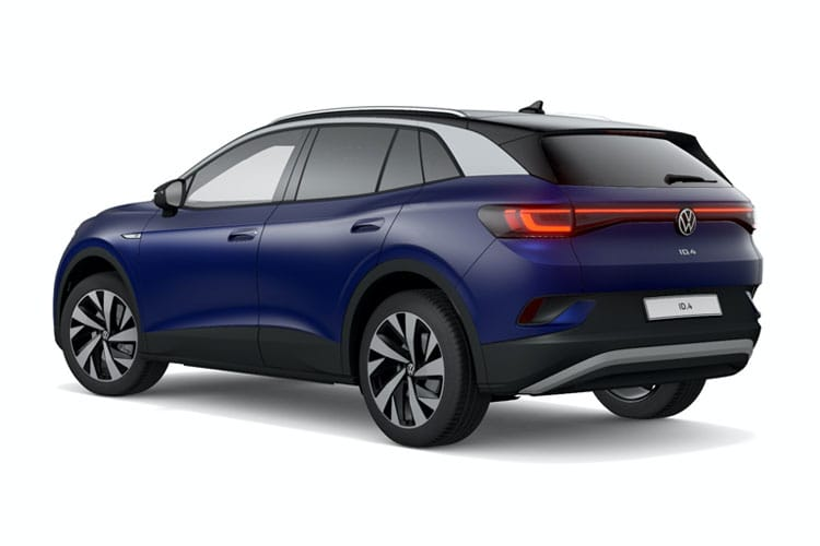 Volkswagen ID.4 SUV Elec Pro Perf 77kWh 150KW 204PS Life 5Dr Auto back view